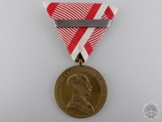 A 1920 Austrian Golden Bravery Medal