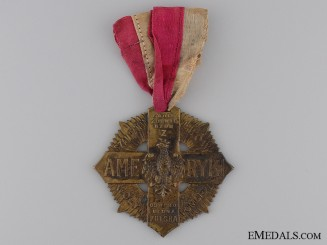 A 1920 Polish Soldiers Cross of American Volunteers