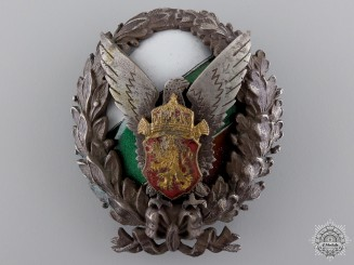 Bulgaria, Kingdom. A Police Academy Badge, c.1930
