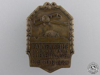 A 1924 Freising Flying Club Dedication Badge