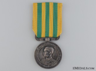 Thailand, Kingdom. A Coronation of King Prajadhipok (Rama VII) Medal, c.1926