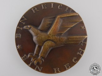 A 1929 Fiftieth Anniversary of the Reich Court in Leipzig Medal