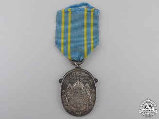A 1929 Silver Swedish Militia Association Medal
