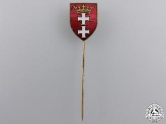 A 1930's Danzig Patriotic Pin