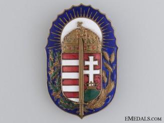 """A 1930's Hungarian """"Vitez"""" Award"""