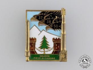 Italy. A Second War Pieve di Cadore Badge