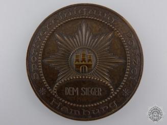 A 1931 Hamburg Police Sport Award
