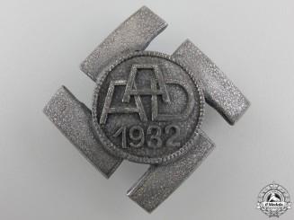 A 1932 Anhalt Labor Commemorative Badge; Silver Grade