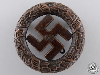 A 1933 Gau- München Badge by Deschler & Sohn