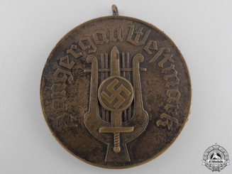 A July 1936 Gau Westmark Singer Rally Medal