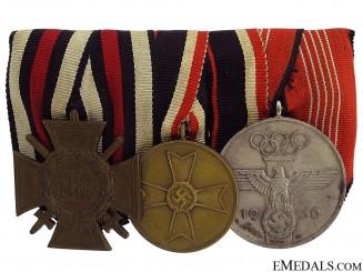 A 1936 Olympic Medal Bar