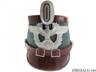 A 1936 Pattern Gendarmerie NCO's Shako