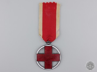 A 1937-39 German Red Cross Medal with Production Error