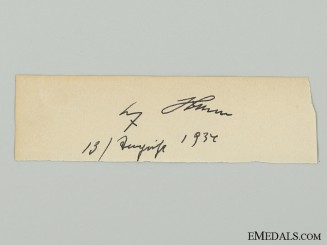 A 1937 AH Signature Removed from SS Day Book