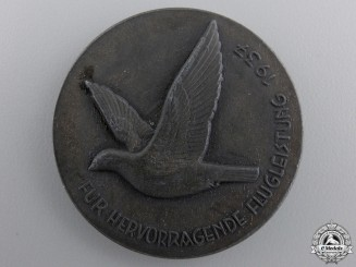 A 1937 Carrier Pigeon Merit Medal