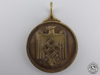 A 1937 German 1500 Meter Sprint Medal