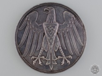 A 1937 German Lifesaving Award in Silver