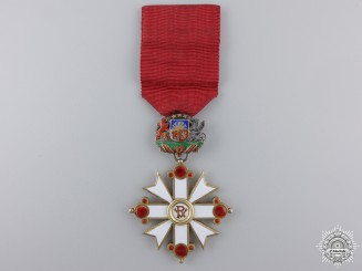 A 1938-40 Latvian Order of Vesthardus; Knight by V. Millers