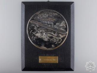 Germany, Luftwaffe. A 1938 Flying Award to Feldwebel (Sergeant) at Rotenburg