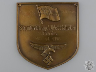 A 1938 German Naval Aviator's 2nd Place Award