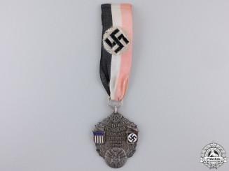 A 1938 Pre War America-German Bowling Medal, Berlin