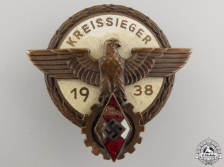 A 1938 Victors Badge in the National Trade Competition by G.Brehmer