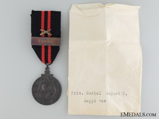 A 1939-1940 Finnish Winter War Medal; Type II
