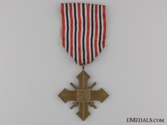 A 1939 Czechoslovakian War Cross