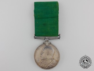 A Colonial Auxiliary Forces Long Service Medal to the 61st Regiment of Infantry