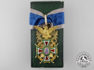 An Outstanding Mexican Imperial Order of Guadalupe; 1st Class in Gold (1863-1867)
