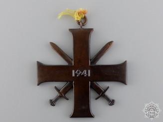 A 1940-45 Norwegian Merit Cross with Swords