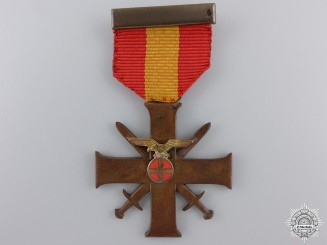 Norway, German Occupied. A Merit Cross with Swords, c.1942