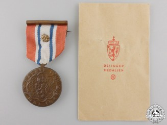 Norway. A 1940-45 War Medal with Packet