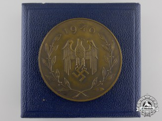 Germany. An Infantry Regiment War Sport Festival, 1st Place Medal, c.1940
