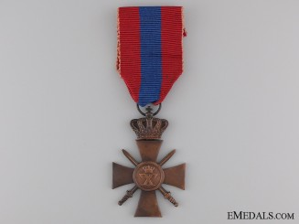 A 1940 Greek War Cross; 3rd Class
