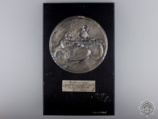 Germany, Heer. A 1941 Army Shooting Award  to the 13th Reserve Anti-Tank Battalion