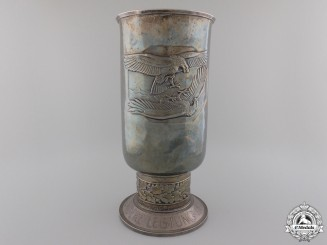 A 1941 Luftwaffe Honor Goblet to Pilot Downed over France