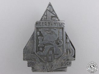 A 1942 Dutch W.A. Spring March Badge