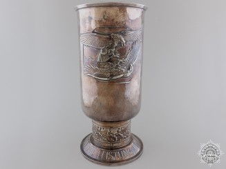 A 1943 Luftwaffe Honor Goblet to Ju88 Pilot Downed over Tunisia