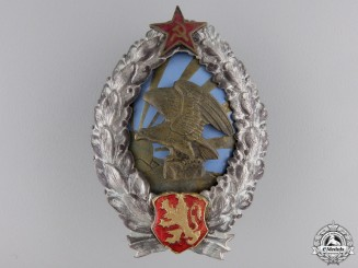 A 1944-50 Bulgarian Observer's Badge