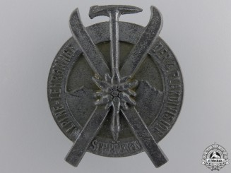 A 1944 4th Luftwaffe Flak Division Alpine Ski Award