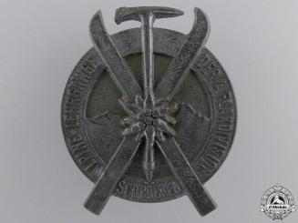 A 1944 4th Luftwaffe Flak Division Alpine Ski Award