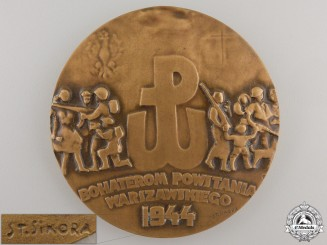 A 1944 Polish Uprising Medal