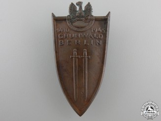 A 1945 Polish Grunwald Badge 1945