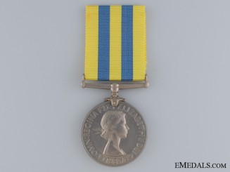 A 1950-53 Korea Medal to the Royal Signals