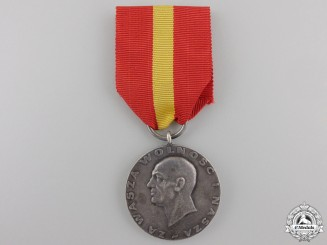 A 1956 Polish Spanish Civil War Commemorative Medal