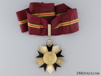 French Colonial. A Dahomey National Order of Merit, c.1960