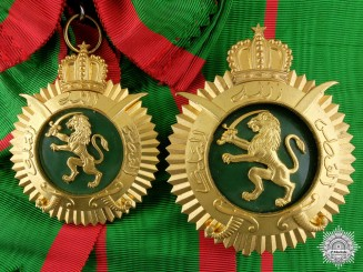 A 1976 Moroccan Order of Military Merit; Grand Cordon