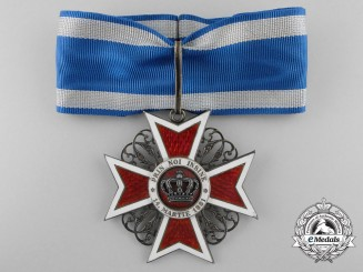 An Order of the Crown of Romania; Third Class Commander