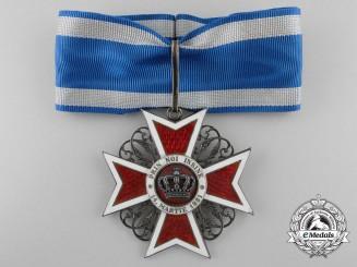 Romania, Kingdom. An Order of the Crown, III Class Commander, c.1910